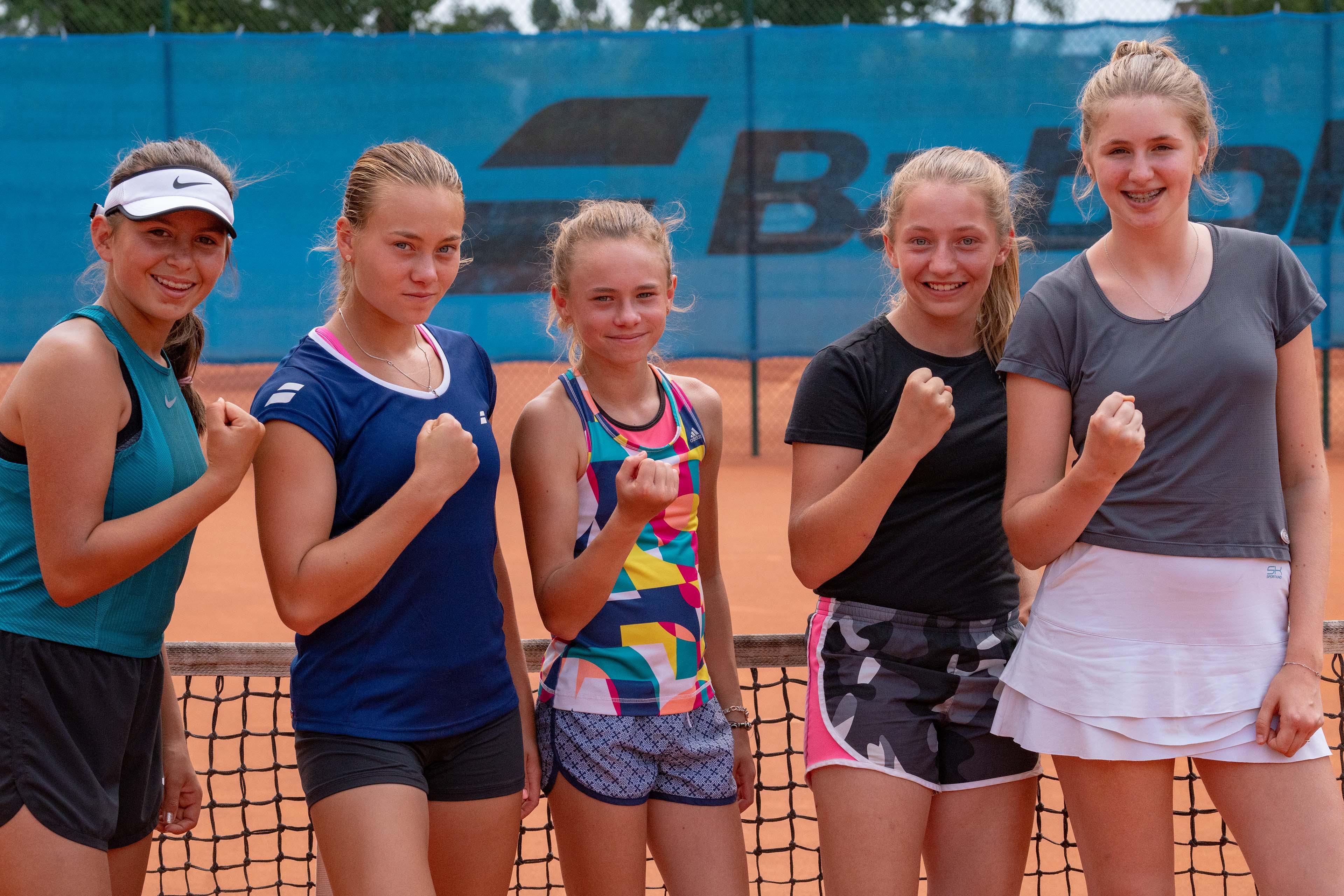 Die Juniorinnen des MTV Bamberg